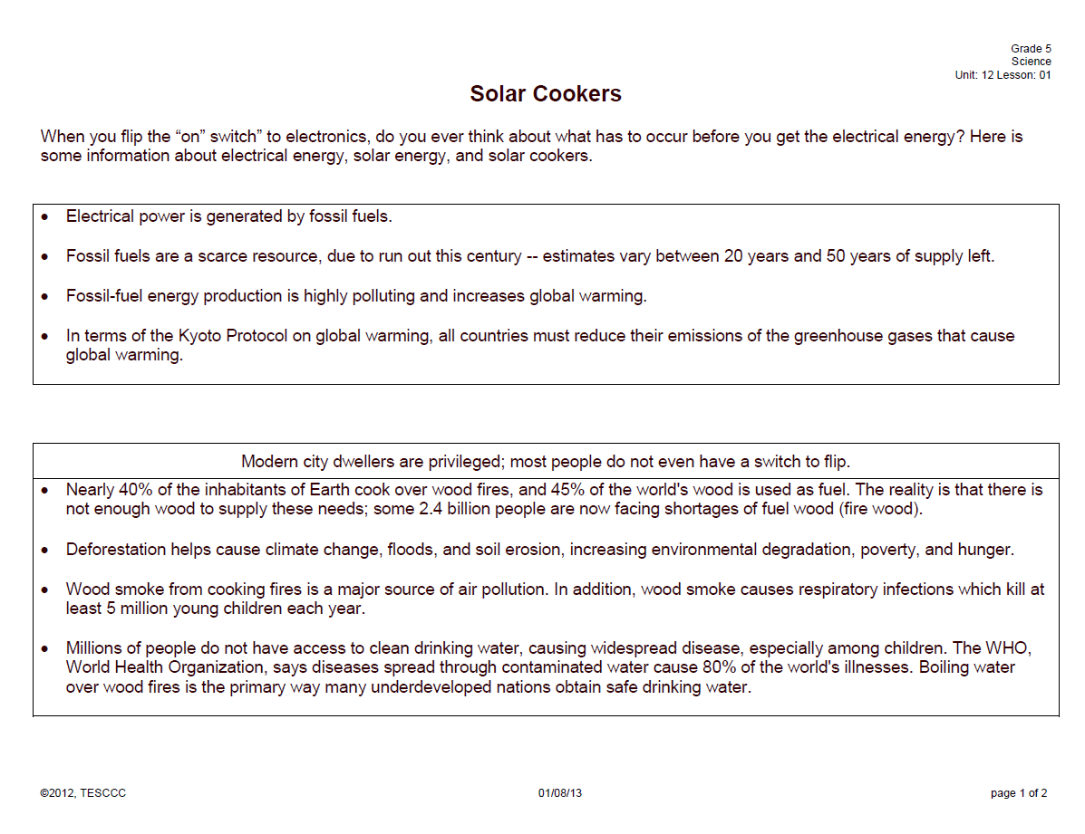 Free Worksheet Global Warming Worksheets global warming red hot conservative solar cookers
