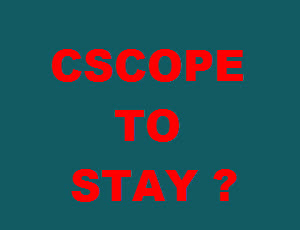 CSCOPE TO STAY