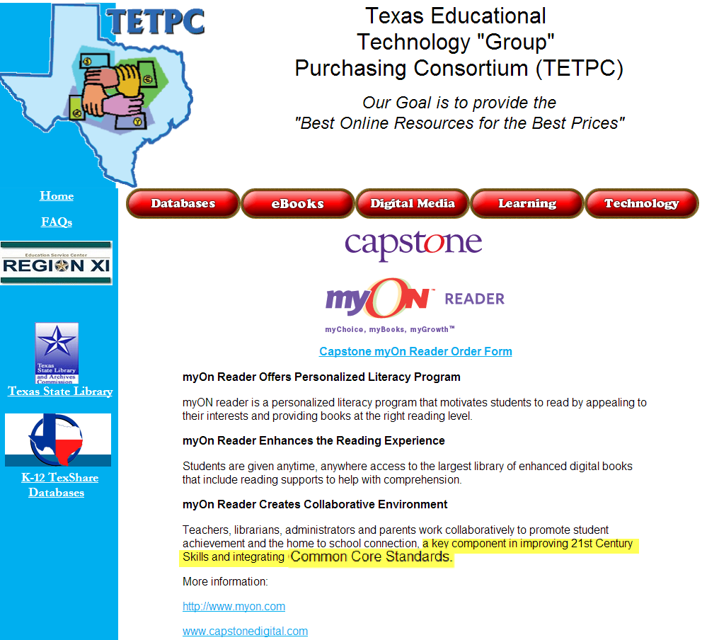 Texas education service centers red hot conservative common core 2 fandeluxe Images