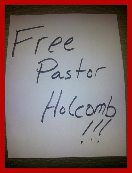 save pastor holcomb